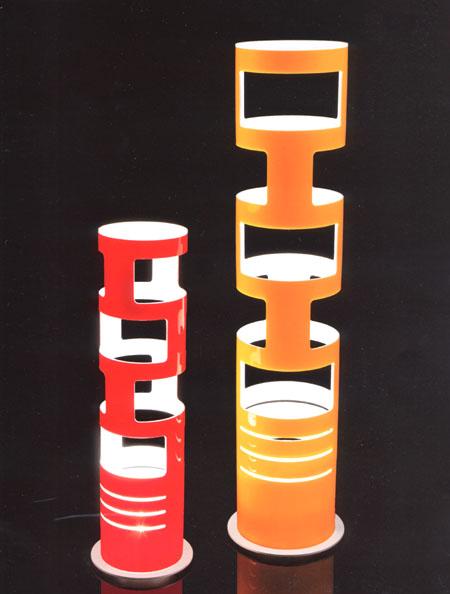 Sama Table lighting from Kundalini, designed by Gregorio Spini