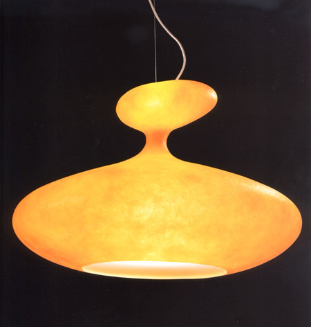 ETA Sat lighting from Kundalini, designed by Guglielmo Berchicci