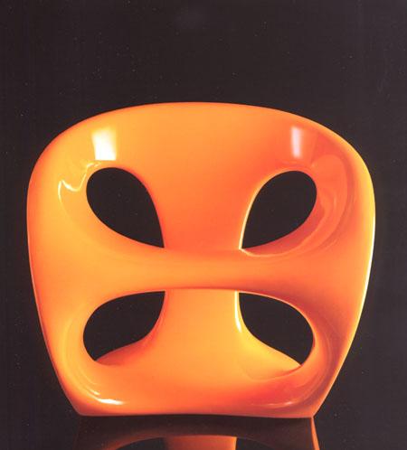 Hara chair from Kundalini, designed by Giorgio Gurioli