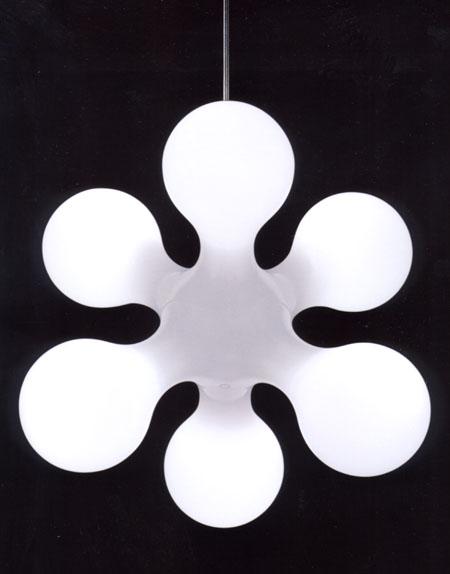 Atomium Ceiling lighting from Kundalini