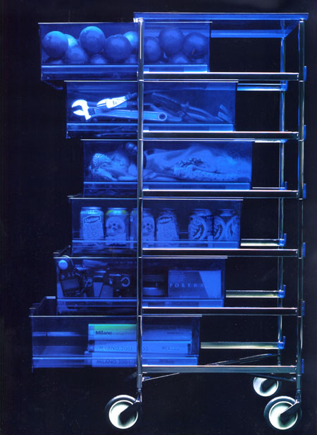 Mobil cabinet from Kartell, designed by Antonio Citterio