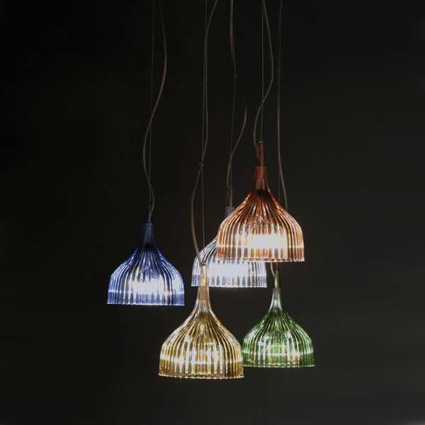E Suspension lighting from Kartell