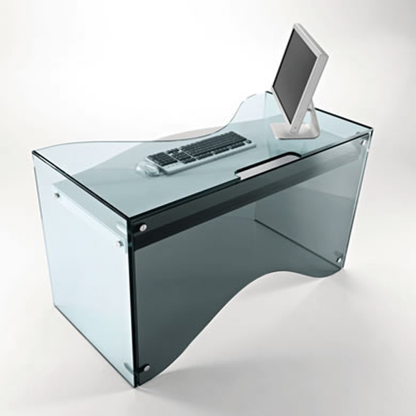 Strata desk from Tonelli, designed by Karim Rashid