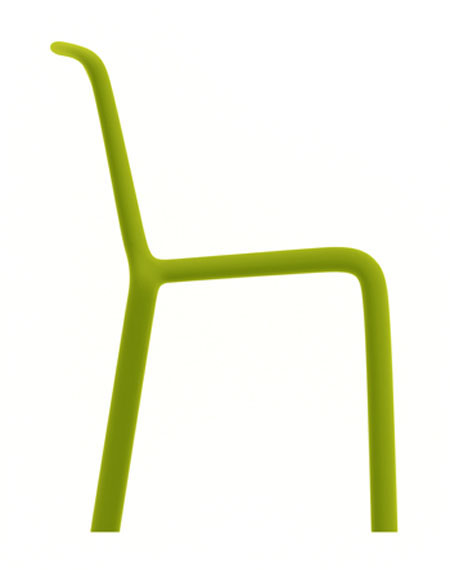 Snow chair from Pedrali, designed by Odoardo Fioravanti