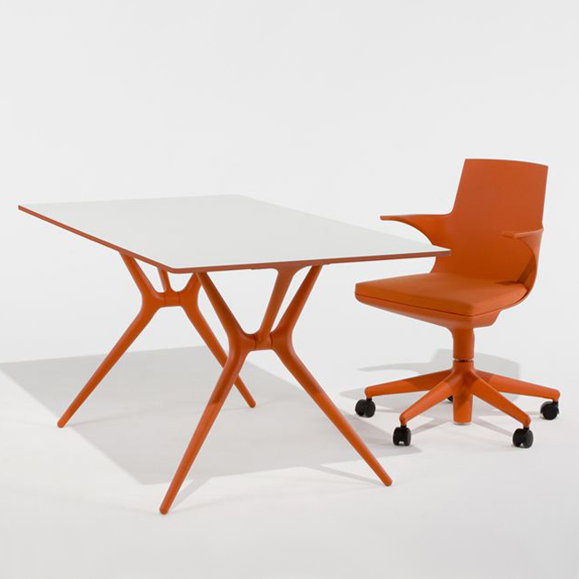 Spoon Table desk from Kartell