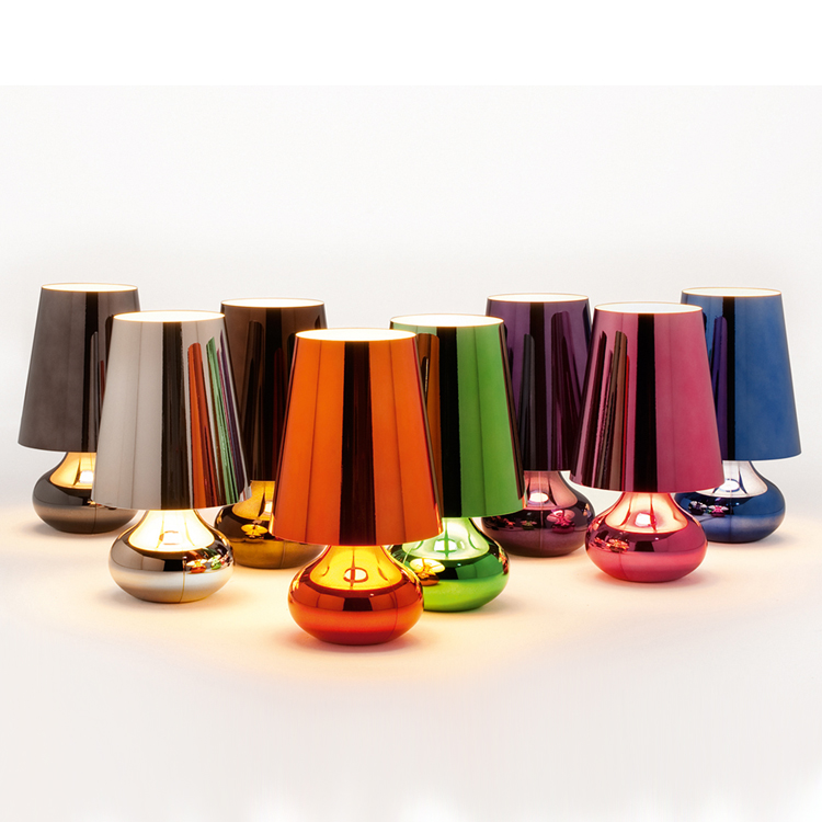 Cindy lighting from Kartell, designed by Ferruccio Laviani