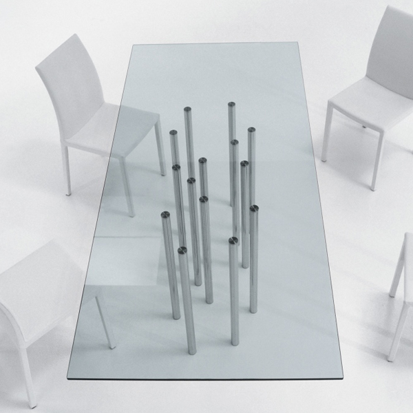 Mille, dining table from Bonaldo, designed by Bartoli Design