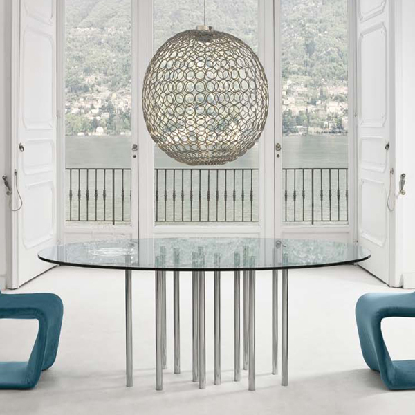 Mille, dining table from Bonaldo, designed by Bartoli Design