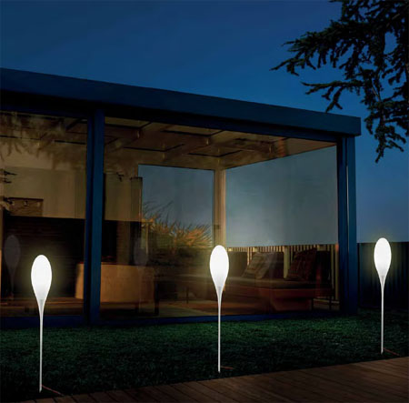 Spillo Outdoor, lighting from Kundalini, designed by Constantin Wortmann
