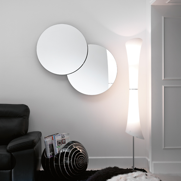Shiki mirror from Tonelli, designed by Isao Hosoe
