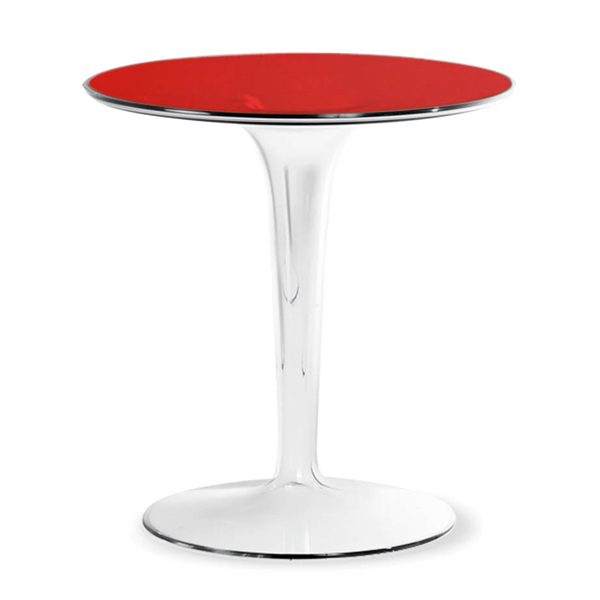 Tip Top, end table from Kartell, designed by Philippe Starck