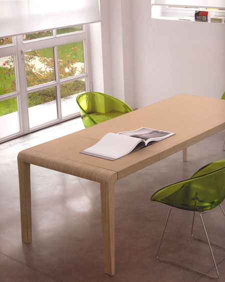 Exteso dining table from Pedrali, designed by Pedrali R&D