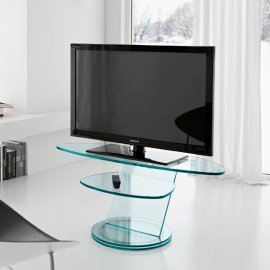 Scenario Round TV Unit by Tonelli