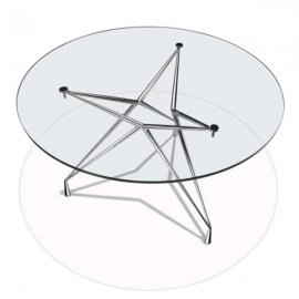 Apollo/T Dining Table by Parri