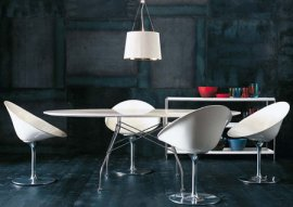 Glossy Table Dining Table by Kartell