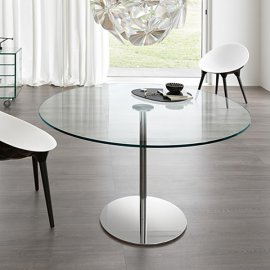 Farniente Alto Round Dining Table by Tonelli