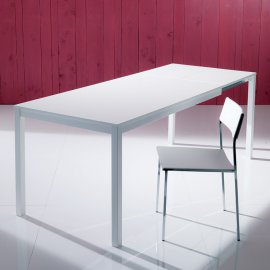 Mago Glass Dining Table by Bontempi