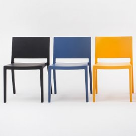 Lizz Chairs by Kartell