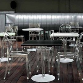 Top Top Bistro Dining Table by Kartell