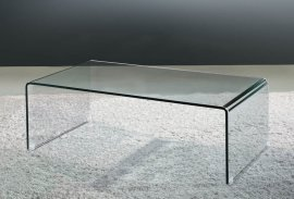 Arch (Waterfall) Coffee Table Coffee Table by Viva Modern