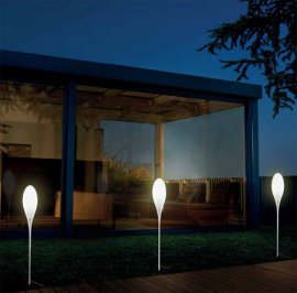 Spillo Outdoor Lighting by Kundalini