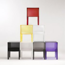 Small Ghost Buster End Tables by Kartell