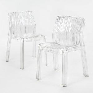 Frilly Chairs by Kartell