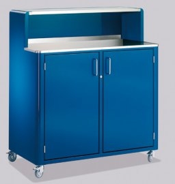 Classic Line Mobile Bar Cabinet by Muller