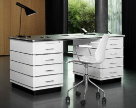 Classic Line Desk TB 229 Desks by Muller