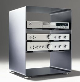 Mobile Line Stereo Cabinet by Muller