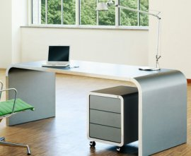 Highline Desk/Dining Table 80 Desk by Muller