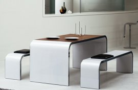 Highline Desk/Dining Table 95 Desk by Muller