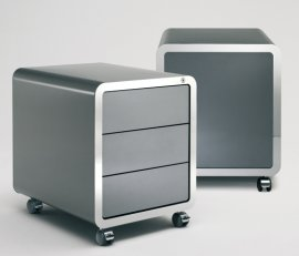 Highline Roll Container Cabinet by Muller