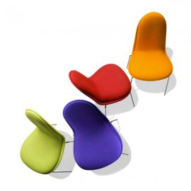 Caramella Fabric Chair by Parri