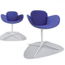 Coccola Fabric Chair by Parri