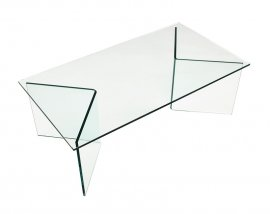 Glaze Rectangular Coffee Table by Viva Modern