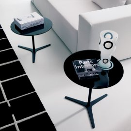 Elica End Table by Bontempi