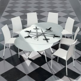 Giro Dining Table by Bontempi