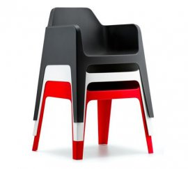 Plus Chair by Pedrali
