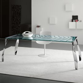 Luz de Luna Dining Table by Tonelli