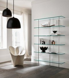 Transparenza Bookcase by Tonelli