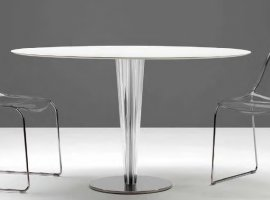 Krystal Dining Table by Pedrali