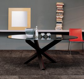 Aikido Elliptical Dining Tables by Sovet