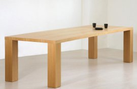 Plank Dining Table by Viva Modern