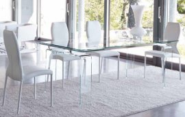 Tecno Fixed Dining Table by Unico Italia