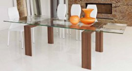Axel Extendable Dining Tables by Unico Italia