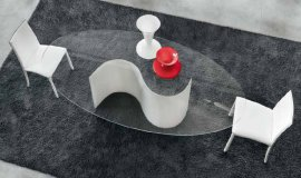 Segno Dining Table by Unico Italia
