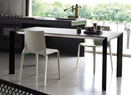 Nori Glass Dining Table by Kristalia
