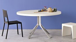 Oops Lacquered Dining Tables by Kristalia