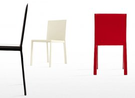 Slim Chairs by Kristalia